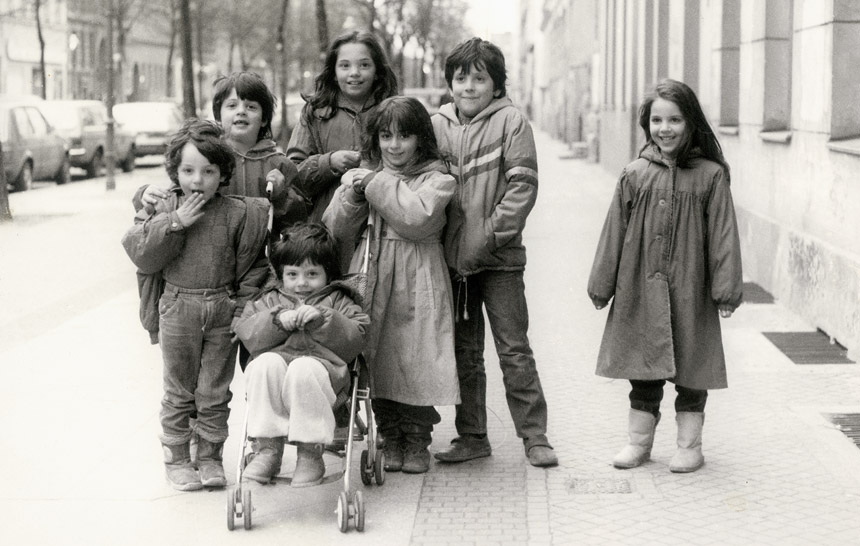 Kinder, Berlin